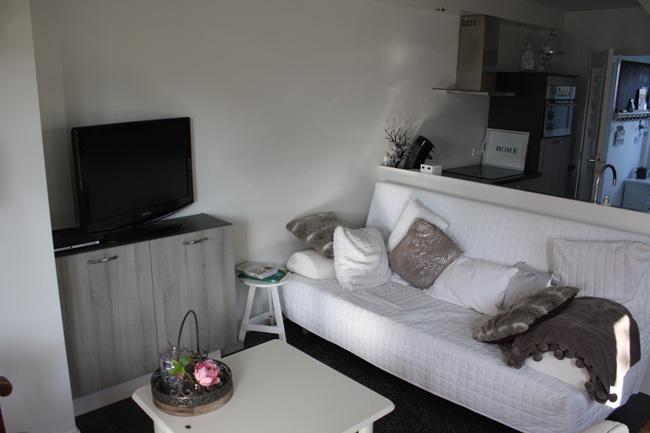 De woonkamer van Bed & breakfast Magnolia in Vlijmen