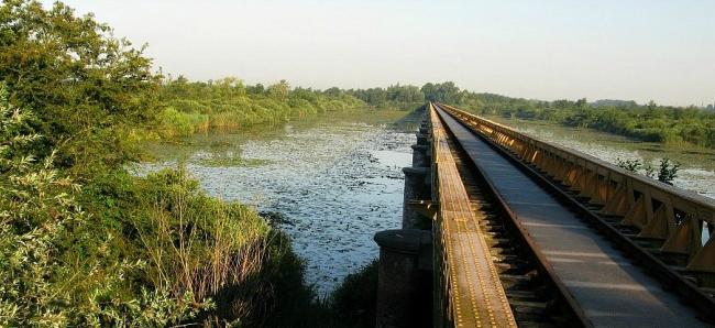 Natuurgebied de Moerputten in nabije omgeving van B&B Magnolia